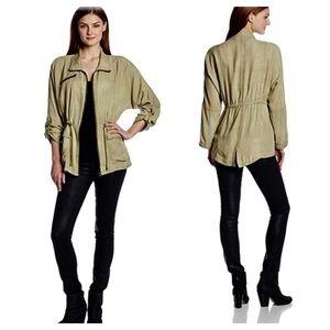 Jessica Simpson Kalani Dolman Anorak Jacket